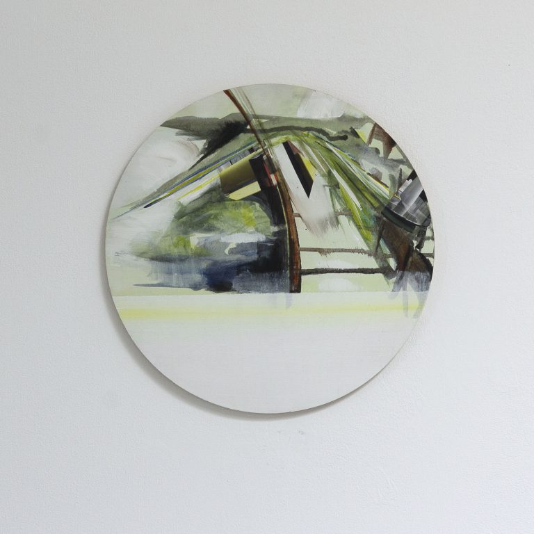 tableau drie_04, ø 36 cm