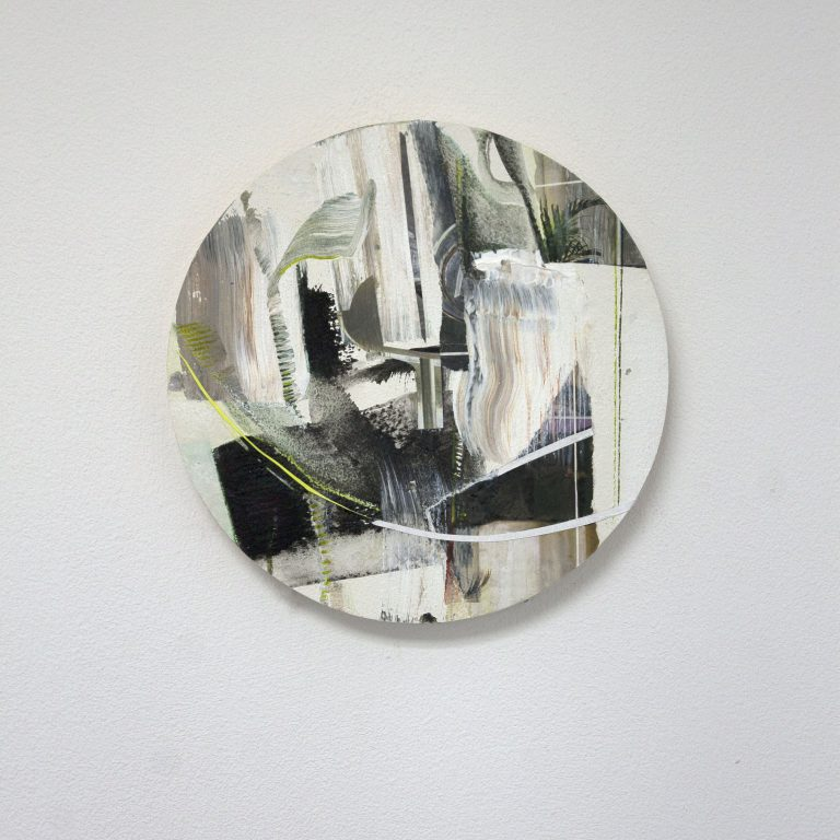 tableau vijf_04, ø 17,5 cm